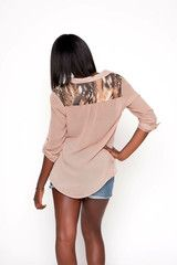 Blush Blouse