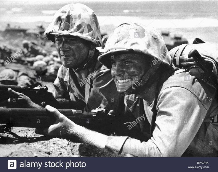 John Wayne & John Agar Sands Of Iwo Jima (1949 Stock Photo, Royalty Free Image: 30963014 - Alamy