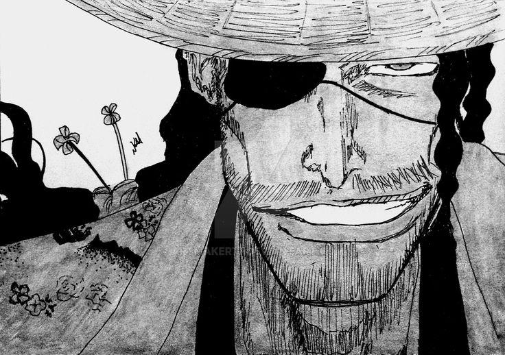 Captain Shunsui Kyoraku by artmaker77.deviantart.com on @DeviantArt