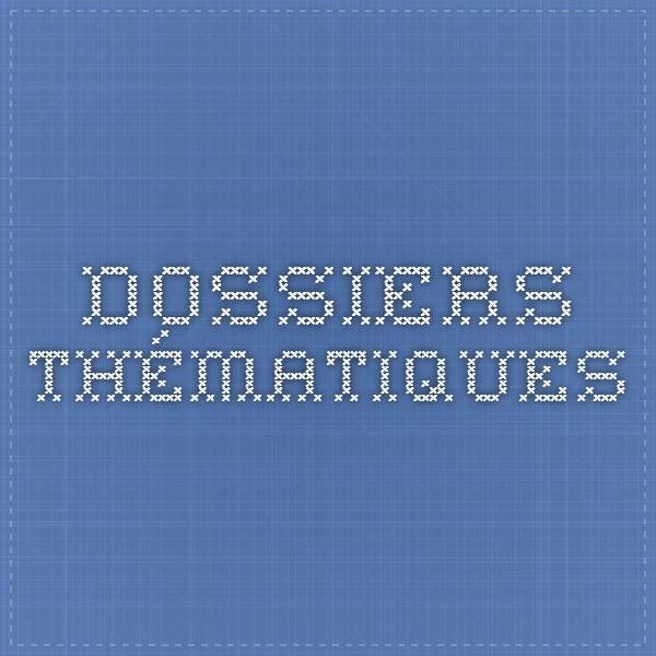 Dossiers thématiques POLES COMPETITIVITE