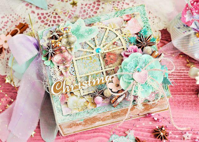 Бумага и Мышонок: Рождественская коробочка Christmas Wishes