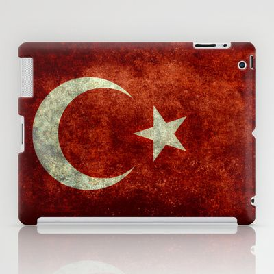 The National flag of Turkey - Vintage version iPad Case by LonestarDesigns2020 - Flags Designs + - $60.00