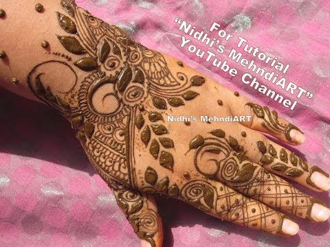 Arabic Mehndi Flower : 101 best mehndi designs video images on pinterest henna