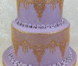 Claire Bowman Cake Lace Mat - Ophelia Lace Small Mat