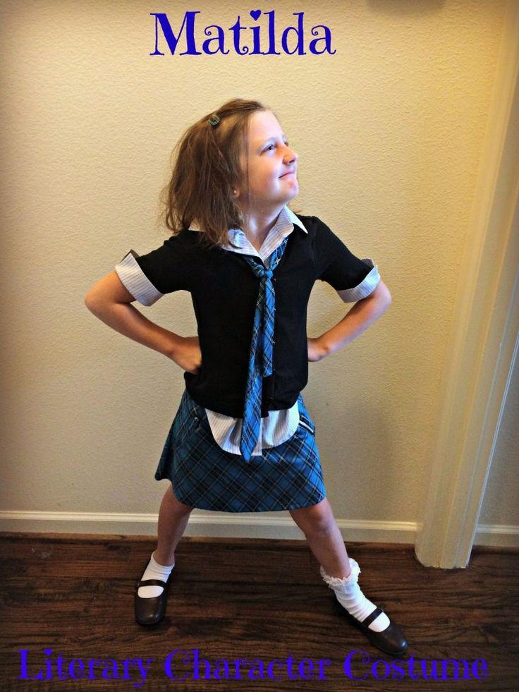 "5 Tips for a Roald Dahl's ""Matilda"" Costume | Milk & Cuddles"