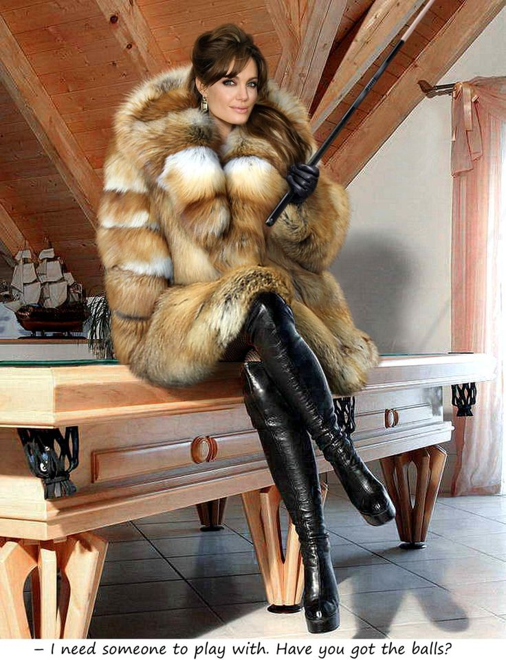 Sexy Mature In Fur 40