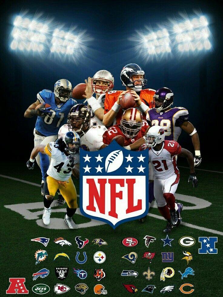 NFL Equipos de cada conferencia