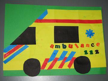 Knutsel ambulance