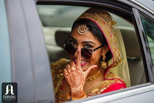 Indian bride #punjabiwedding #bannoswag #punjabibride