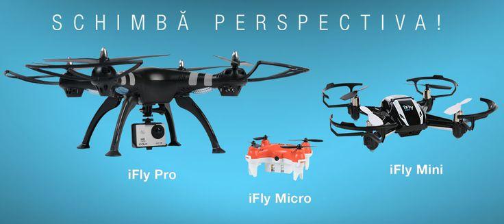 Evolio aduce 3 drone pentru orice buzunar