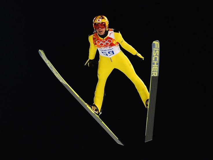 Ski Jumping Men's Normal Hill Nighttime Qualification Round