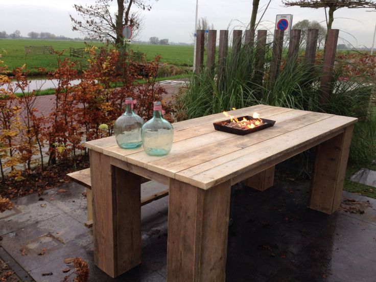 90 best images about tuin on pinterest - Traditionele bed tafel ...