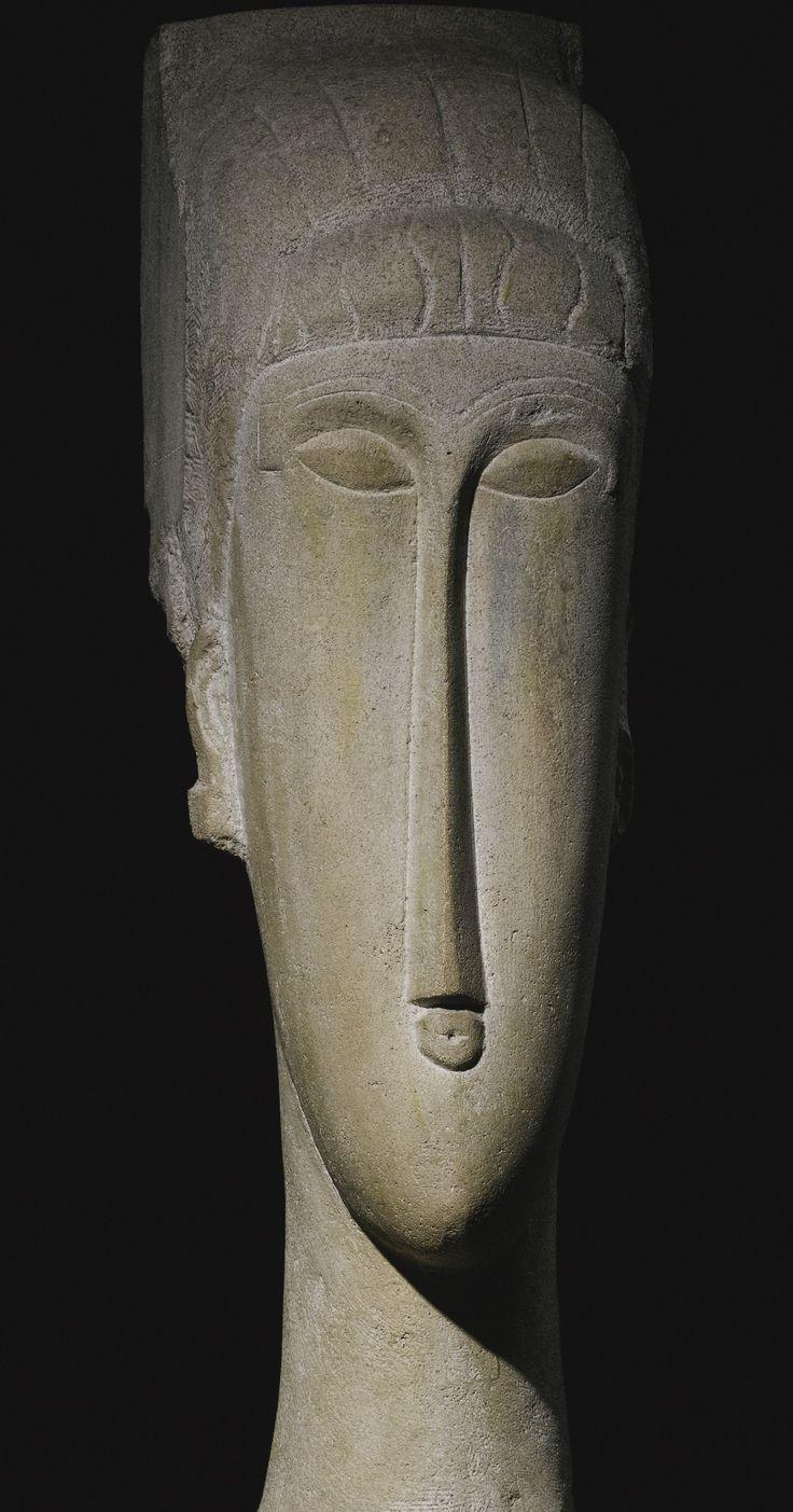 Amedeo Modigliani TÊTE