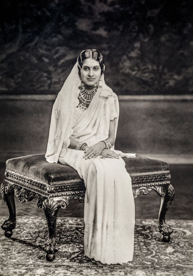 This photograph of Rani Yashoda Devi of Patiala was taken in Vandyk Studios in London in the 1930s. Courtesy MAP/Tasveer