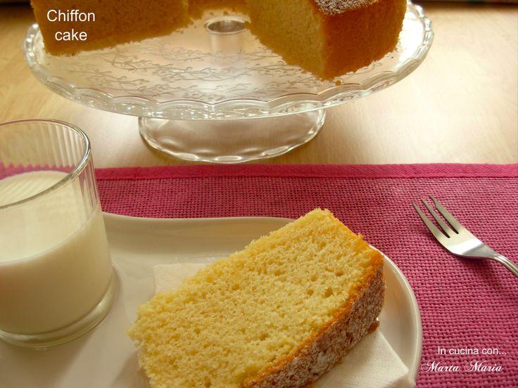 Chiffon+cake,+ricetta+Bimby