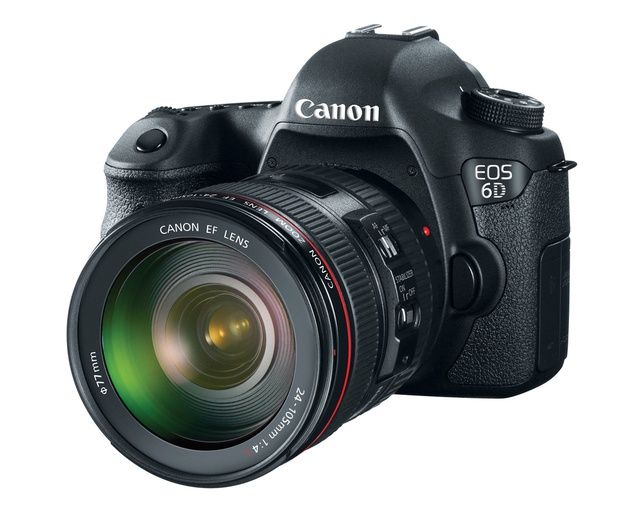 Canon announces the EOS 6D, a full-frame DSLR with built-in Wi-Fi for$2,099