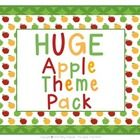 Are you thinking about decorating your classroom with the apple theme? This is a huge pack of apple theme classroom decor sets.  There are currently 11 sets in this pack and I will continue to add to it as I make new apple theme sets. $