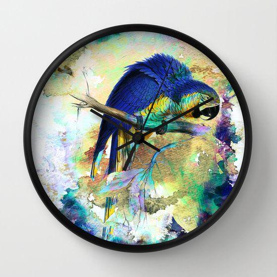 Parrot Bird - WALL CLOCK