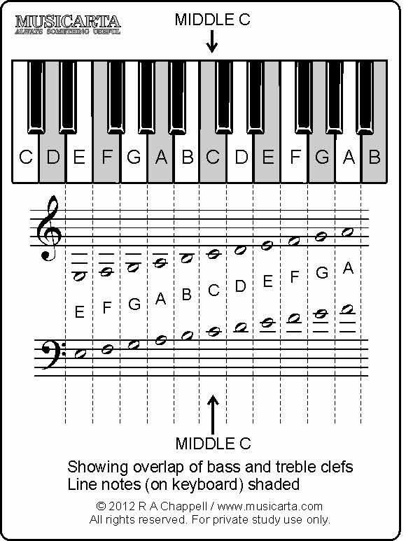 This is a photo of Clean Printable Music Notes Flashcards