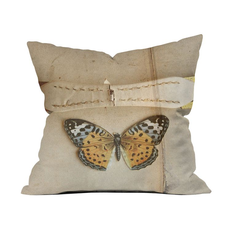 Modern Moose Pillows : Belted Butterfly Throw Pillow dotandbo.com FAB HOME ACCENTS Pinterest Buns, The o jays ...