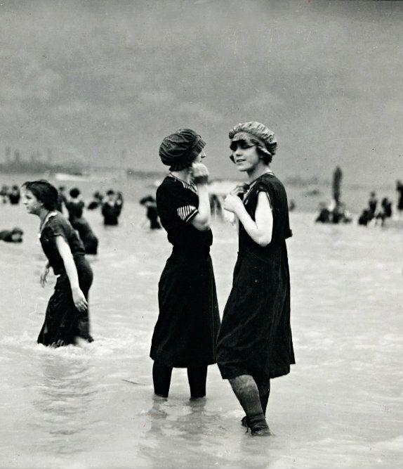 Bathing beauties, circa 1890's