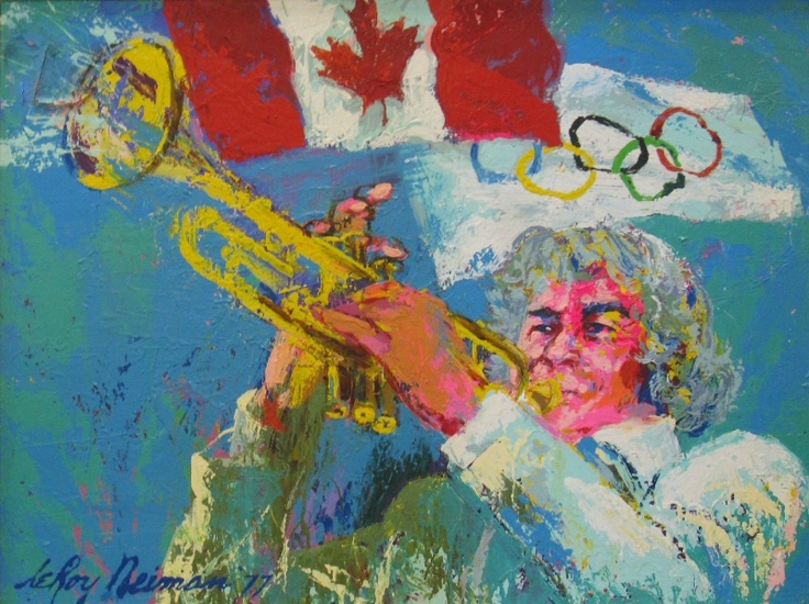 1000 images about artist leroy neiman on pinterest