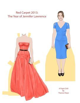 Red Carpet Jennifer Lawrence Page 1 by wunderbunny0602