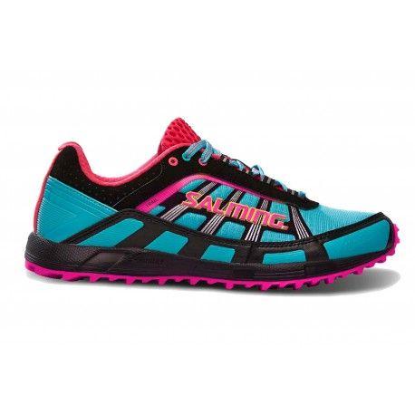Běžecké boty Salming Trail T2 Women Turquoise/Black.