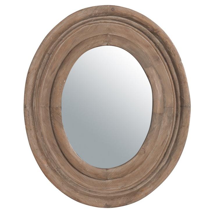 Specchio ovale Country