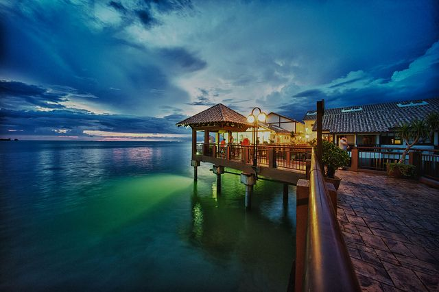 Lexis (Legend Water Chalets), Port Dickson, Malaysia.
