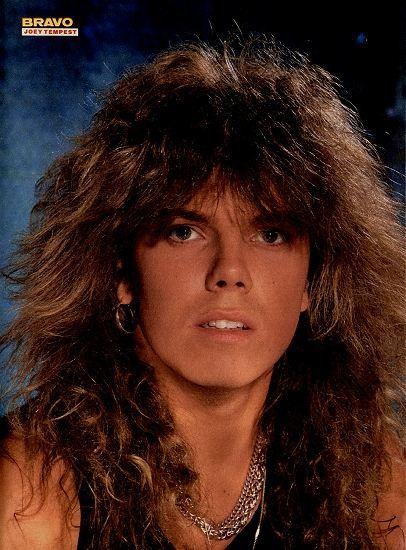 1986: Joey Tempest (Europe)