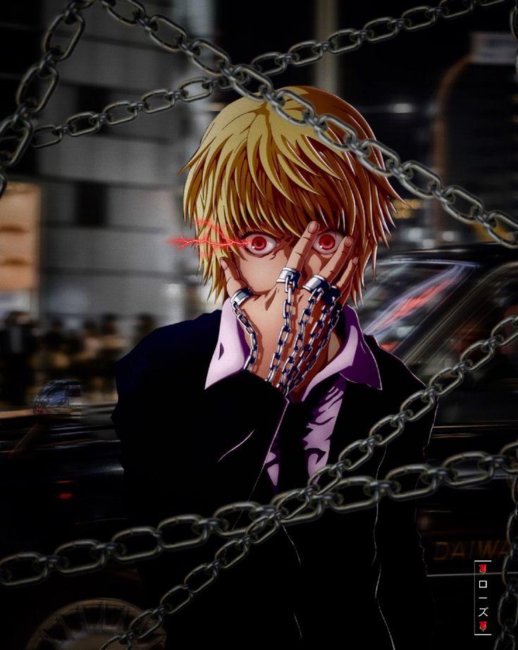 Kurapika in 2020 black love art aesthetic anime