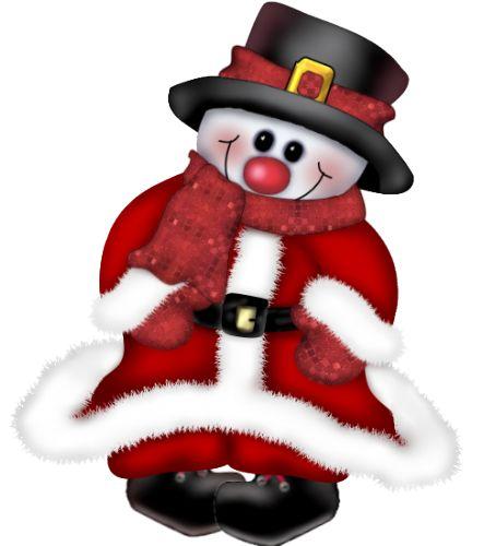 tubes christmas / snowmen