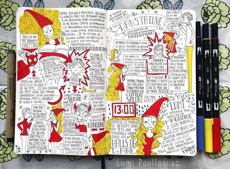 #Moleskine #Sketchnotes #Journal #JournalIntime #Draw #Ink #Dessin