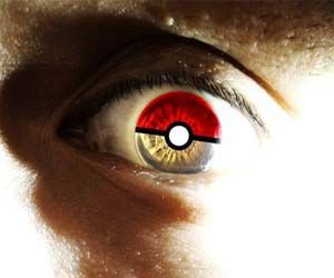 Show that you're the ultimate Pokemon die-hard fan with the Pokemon contacts. These intriguingly designed contacts are great for costumes and turn your eyeballs into small and freaky looking Pokeballs more rare than the Master Ball. Buy It Concept via STORENAME