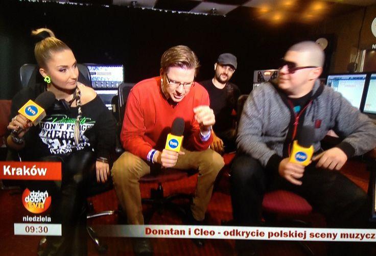 Cleo & Donatan @ TVN