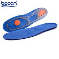 Силиконовый Гель Стельки Спортом Бег стельки Массажные стельки для обуви Дезодорант Pad Ортопедические Подошвенный Фасциит для мужчины женщины 8002