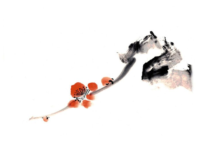 Рицуо Сугияма. Японские акварели суми-э. Обсуждение на LiveInternet - Российский Сервис Онлайн-Дневников