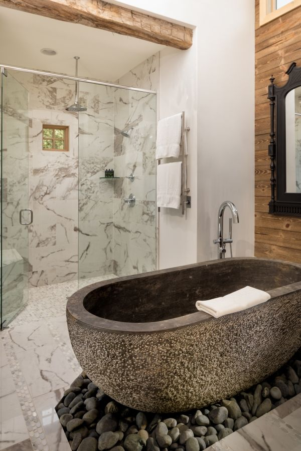 Love This Rustic Bathroom Design Photo From Camp Lucy Resort