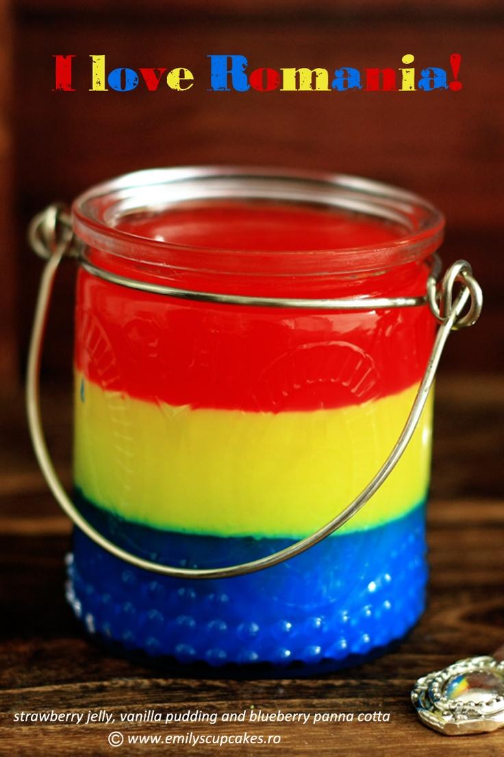 I love Romania!     layers jelly