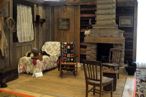 """What a great job! The """"Laramie"""" set looking just like it did on the TV series was designed, constructed and set up in a corner of Whispering Woods by the gracious Carol Ann Kellum."""