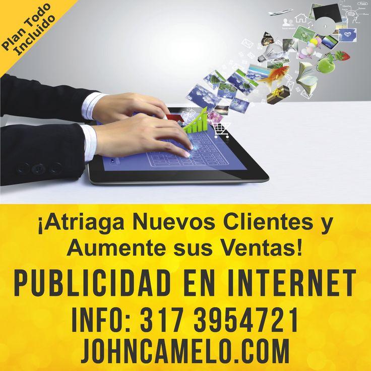 Diseño de Paginas Web integradas con una estrategia de publicidad en internet. Aumente sus ventas!