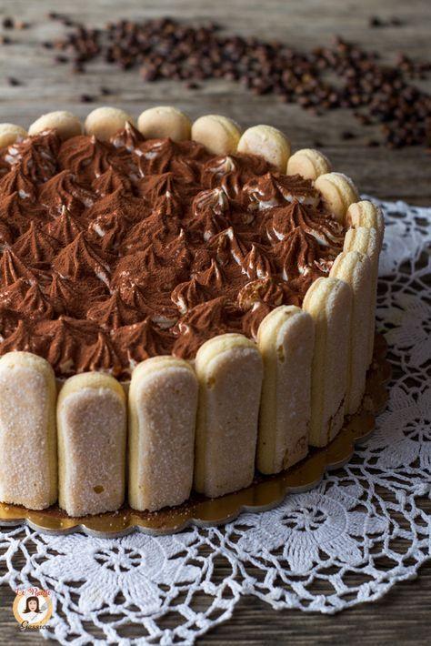 Ricetta Con E Senza Bimby Della Torta Al Tiramisu Con Savoiardi