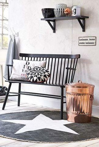 Koperen wasmand | Bekijk tips op http://www.jouwwoonidee.nl/koperen-accessoires/