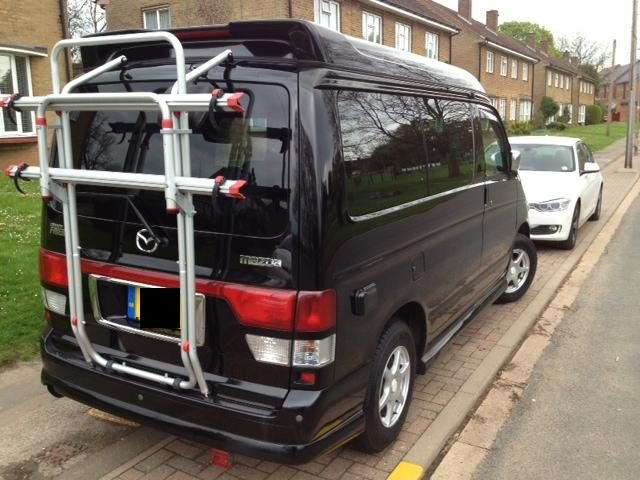Fiamma Carry-Bike Rack for Mazda Bongo - Everything Fiamma