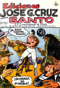 Comics Mexicanos de Jediskater: Santo, El Enmascarado de Plata No. 2, Miercoles 10...