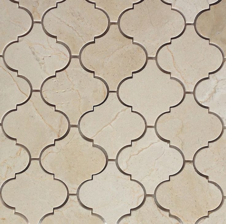 Arabesque Tile Shaped Marble