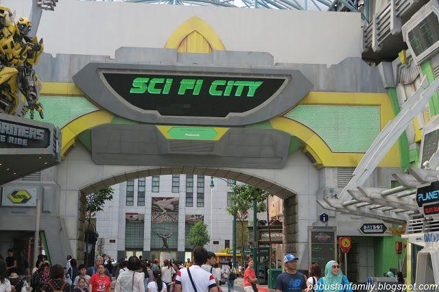 Universal Studio Singapore: Universal Studio Singapore Sci Fi Zone