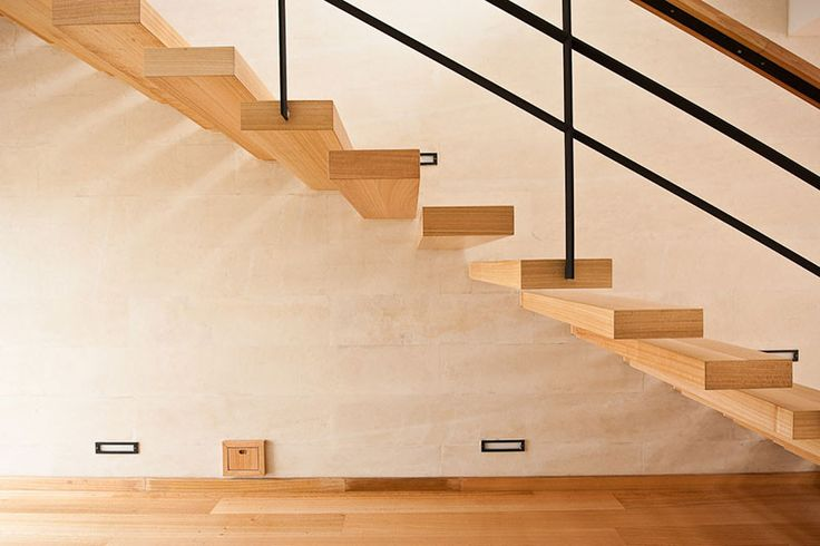 Custom wood products - staircase #AAprojects