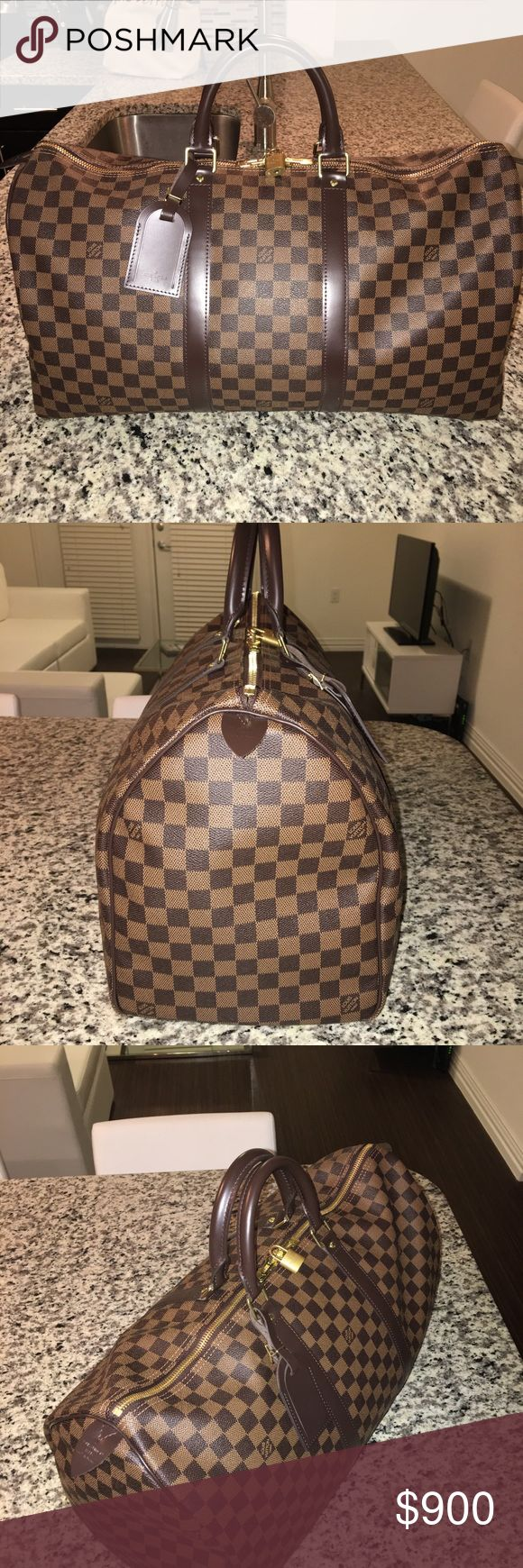Louis Vuitton Keepall 45 Purchased on 2/17/17. Little to no use and in excellent condition. Louis Vuitton Bags Luggage & Travel Bags